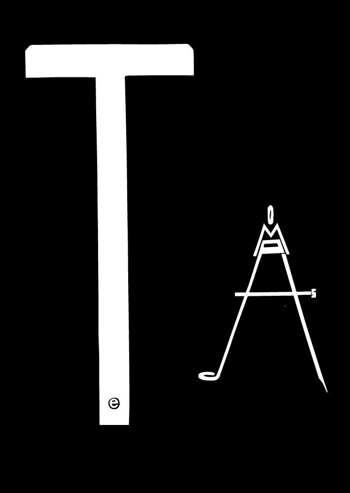 <i> Te-et-compas </i> 65 X 50